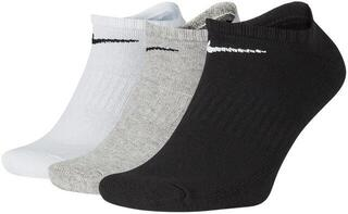 Nike Everyday Cushioned No-Show Socks (3 Pair) Multi Color M