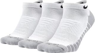Nike Everyday Max Cushion No-Show Socks (3 Pair) White/Wolf Grey/Black
