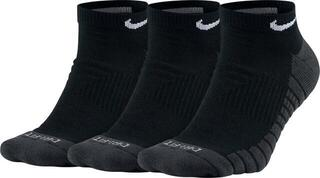 Nike Everyday Max Cushion No-Show Socks (3 Pair) Black/Anthracite/White M