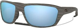 Oakley Split Shot Woodgrain/Prizm Deep H2O Polarized