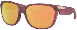 Oakley Rev Up Matte Translucent Polarized/Prizm Rose Gold