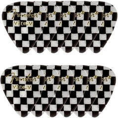 Fender 351 Shape Premium Picks Medium Checker 12 Pack