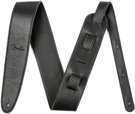 Fender 2,5'' Artisan Crafted Leather Strap Black