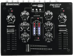 Omnitronic PM-211P DJ Mixer With Player