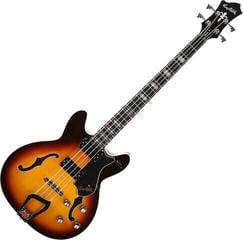 Hagstrom Viking Bass Tobacco Sunburst