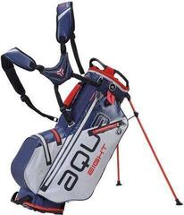Big Max Aqua 8 Stand Bag Silver/Navy/Red