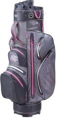Big Max Aqua Silencio 3 Cart Bag Charcoal/Black/Fuchsia