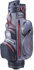 Big Max Aqua Silencio 3 Cart Bag Charcoal/Black/Red