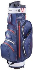 Big Max Aqua Silencio 3 Cart Bag Navy/Silver/Red