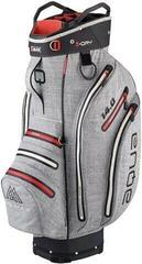 Big Max Aqua Tour 3 Cart Bag Storm Silver/Red