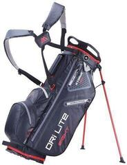Big Max Dri Lite 8 Stand Bag Black/Red