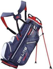 Big Max Dri Lite 8 Stand Bag Navy/White/Red