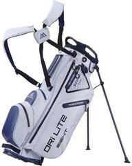 Big Max Dri Lite 8 Stand Bag Silver/Navy