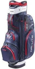 Big Max Dri Lite Sport Cart Bag Navy/Silver/Red