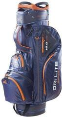 Big Max Dri Lite Sport Cart Bag Steel Blue/Black/Orange