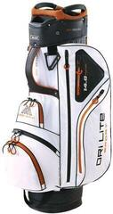 Big Max Dri Lite Sport Cart Bag White/Black/Orange (B-Stock) #929395