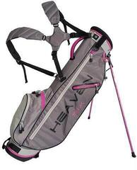 Big Max Heaven 6 Stand Bag Charcoal/Silver/Fuchsia