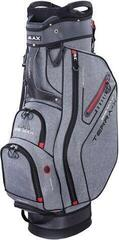 Big Max Terra X Cart Bag Storm Silver /Red