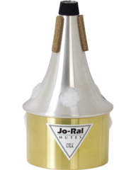 Jo-Ral Brass Bottom Trumpet Bucket Mute