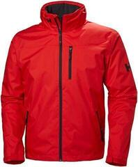 Helly Hansen Crew Hooded Midlayer Jacket Alert Red