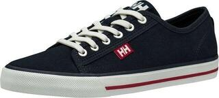 Helly Hansen W Fjord Canvas Shoe V2 Navy/Red/Off White