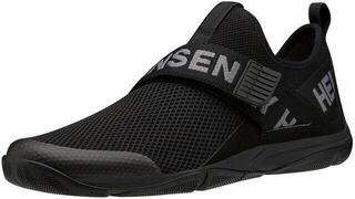 Helly Hansen Hydromoc Slip-On Shoe Black/Charcoal/Azid Lime 44