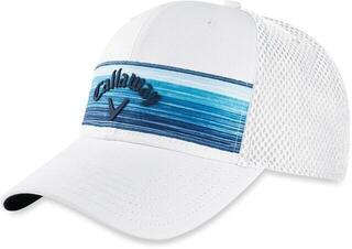 Callaway Stripe Mesh Cap White/Navy/Blue