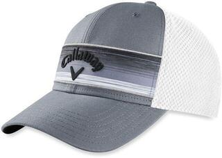 Callaway Stripe Mesh Cap Grey/Black/Silver