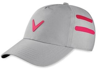 Callaway Opti Vent Womens Cap Silver/Pink