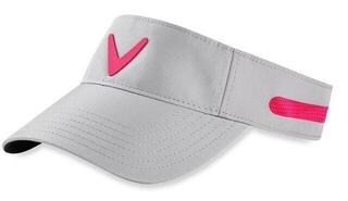 Callaway Opti Vent Womens Visor Silver/Pink
