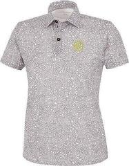 Galvin Green Remy Ventil8+ Junior Polo Shirt White/Grey/Yellow