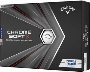 Callaway Chrome Soft X 2020 Triple Track White