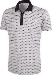 Galvin Green Mario Ventil8+ Mens Polo Shirt Cool Grey/Sharskin/Black