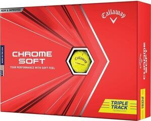 Callaway Chrome Soft 2020 Triple Track Yellow