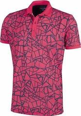Galvin Green Markell Ventil8+ Mens Polo Shirt Barberry/Navy
