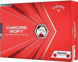 Callaway Chrome Soft 2020 White Truvis Red