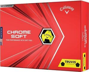 Callaway Chrome Soft 2020 Yellow Truvis Black