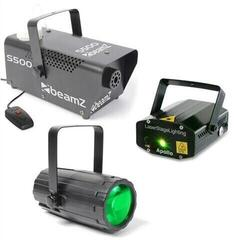 BeamZ Light Set 3 Laser LED Beam Effect and Fog Machine
