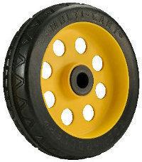 Rocknroller Rear Wheels 8'' by 2.5'' No-flat R-Trac (for R6, R8 and R14)