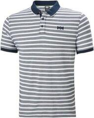 Helly Hansen Faerder Polo Navy Stripe