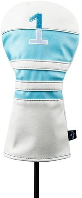 Callaway Vintage Driver Headcover 20 White/Lite Blue/Navy