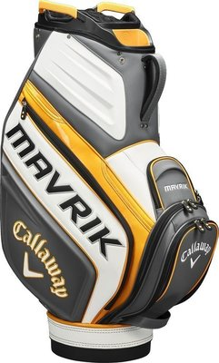 Callaway Mavrik Staff Bag Trolley Charcoal/White/Orange 2020