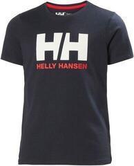 Helly Hansen JR Logo T-Shirt Navy