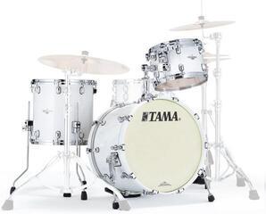 Tama Starclassic Maple Jazz Piano White Black Nickel Hardware