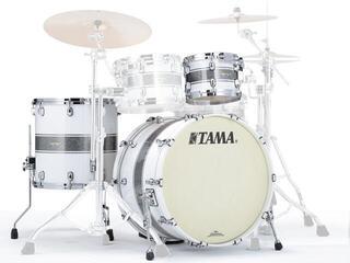 Tama Starclassic Maple Jazz Silver Snow Racing Stripe BN HW