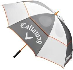 Callaway Mavrik Double Canopy Umbrella 68 White/Charcoal/Orange
