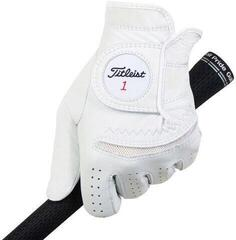 Titleist Permasoft Mens Golf Glove 2020 Left Hand for Right Handed Golfers White L
