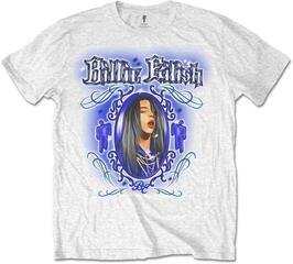 Billie Eilish Unisex Tee Airbrush White S