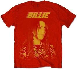 Billie Eilish Unisex Tee Racer Logo Jumbo Red S
