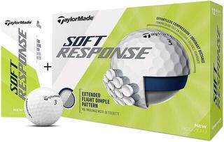 Taylormade Soft Response 15 Golf Balls White